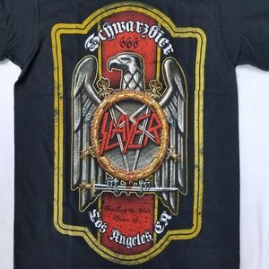 Slayer Schwarzbier Licensed Concert Band Merch